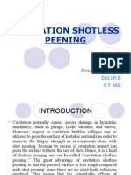 CAVITATION SHOTLESS PEENING