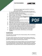 955LC Zero-Span Programming Procedure
