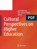 2008 Book CulturalPerspectivesOnHigherEd