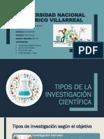 Tipos y Caracteristicas de La Investigacion Cientifica [Autoguardado]