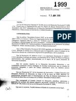 1999-18 CGE Aprueba Lineamientos Para Implemetación Del PMI y -Las Funciones Del Asistente Técnico Territorial