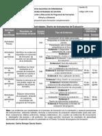 GFPI-F-011 Agosto Formato Cronograma DiseñoDeInstrumentosDeEvaluación