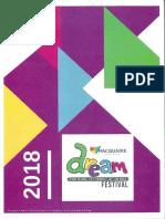 2018 DREAM Festival program