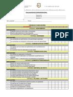 Criterios de Evaluacion Exposicion Oral
