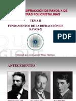 TEMA II(1)_LA DIFRACCIÓN DE LOS RX