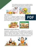Qué es Nutrición