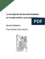 La Concepción de Las Enfermedades en La Edad Media y Sus Tratamientos (1)