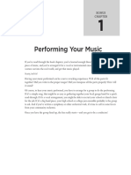Bonus 1 - Performing Your Music