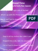 Promtion Slide