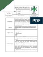 288429645 Sop Klinik Sanitasi Docx