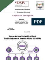 Certificación de Hospitale Expo