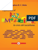 el posmodernismo, la crisis del socialismo