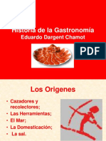 01) Historia de La Gastronomía [1]