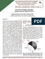 Alternative RAM Mapping Algorithm for Embedded Memory Blocks in FPGA