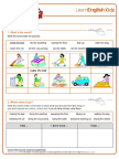Worksheet English