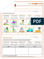 Worksheet English
