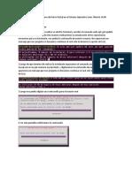 Instalación GBD MySQL en Linux