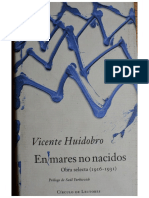 En Mares No Nacidos_Vicente Huidobro