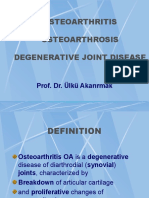 Osteoarthritis Ýngilizce