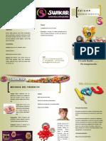Brochure Caramelos Artesanales