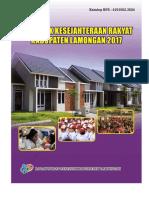 Statistik Kesejahteraan Rakyat Kabupaten Lamongan 2017
