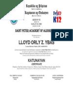 Ybas Lloyd Orly