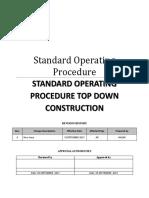 Standard Operating Procedure Top Down