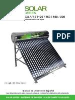 Calentador Solar Green