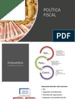 Presentación Política Fiscal