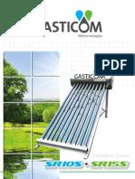Folleto Calentador Solar (Gravedad)