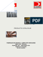 Catalogue Areca Lubricants