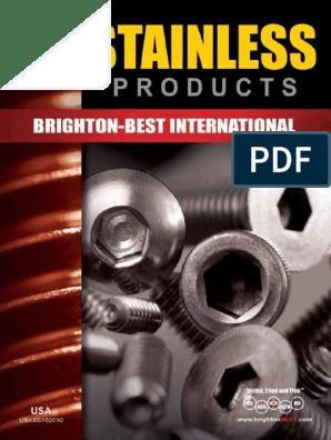 18-8 Stainless Steel 1//2 Long Pack of 50 Brighton-Best International 242247 Dowel Pin 3//8 Diameter