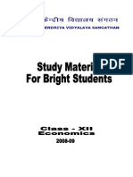 Study Material Economics 2009