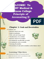 Chapter 1 - Cash and Receivables