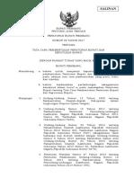 PERBUP NO. 28 TH. 2017 - PEDOMAN PEMBENTUKAN PERBUP DAN SK.pdf