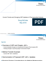 6. Current Trends and Changing USP Updates in Pharmaceutical Industri
