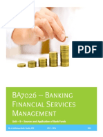 BA7026 Banking Financial Services Management