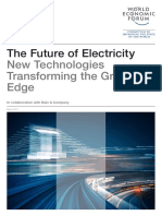 WEF Future of Electricity 2017