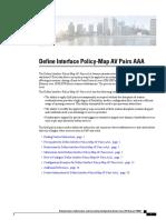 Define Interface Policy Map Av Pairs Aaa