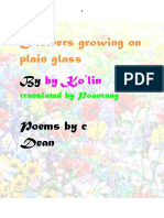 Flowers Growing on Plain Glass-erotic poetry