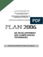 Plan Technique Secteur Btp 2006