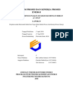 Laporan Proses energi-Kinerja Proses Energi Humidifikasi