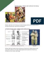 Baju Adat Di Provinsi Indonesia