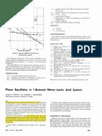 1959_JCED_Petritis PE Butanol Water Lactic Acid System