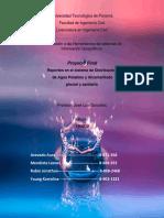 Sistema de Reporte de faños de Agua Potable, Sanitaria y Pluvial