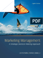 Marketing Management 8th Edition - John W Mullins & Orville C Walker, Jr