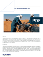Phased Array Pipeline Zone Discrimination Inspection