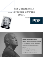 Eduardo Galeano y Mario Benedetti