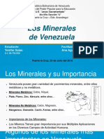 Los Minerales de Venezuela