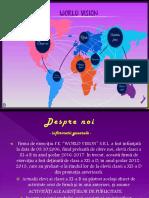 Presentation f.e World Vision s.r.l